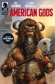 American Gods cómic Portada