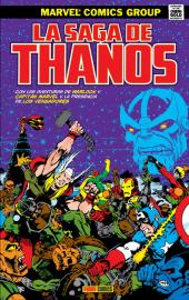 Marvel Gold. La Saga de Thanos c