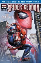 Spider-geddon - Carátula