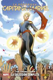 La poderosa Capitana Marvel - Portada