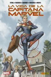 La vida de la Capitana Marvel_Portada