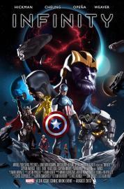 Infinito - Crossover de Marvel (Portada)
