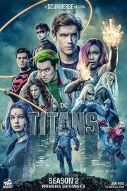 Titanes - Poster temporada 2