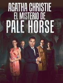 Cartel de Agatha Christie: el misterio de Pale Horse