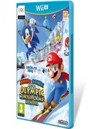 Mario Sonic En Los Juegos Olimpicos De Invierno Sochi 2014 Wii U