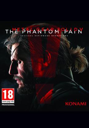 Caratula - Metal Gear Solid V