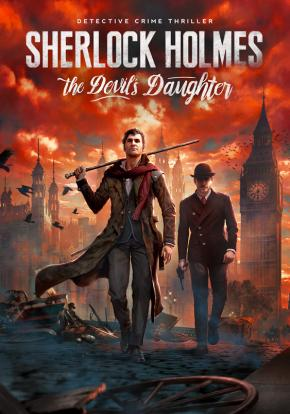 Caratula - Sherlock Holmes Devil's Daughter