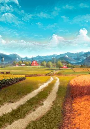 Farming Simulator 17 - Carátula