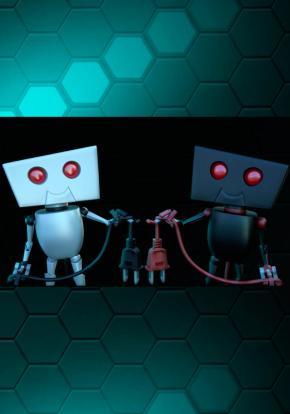 Twin Robots - Carátula