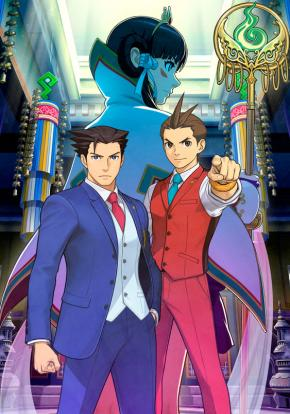 Phoenix Wright: Ace Attorney - Spirit of Justice - Carátula