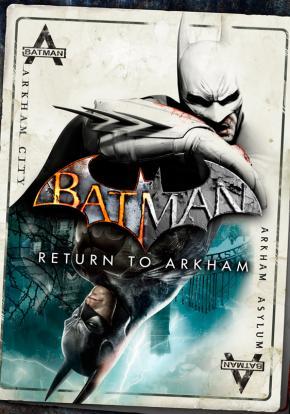 Batman: Return to Arkham - Carátula