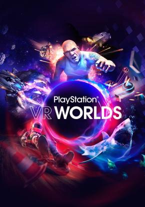PlayStation VR Worlds - Carátula