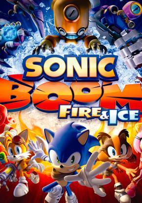 Sonic Boom: Fuego y Hielo - Carátula
