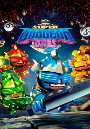 Super Dungeon Bros - Carátula