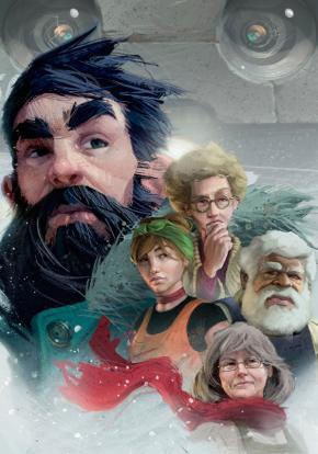 Impact Winter - Carátula
