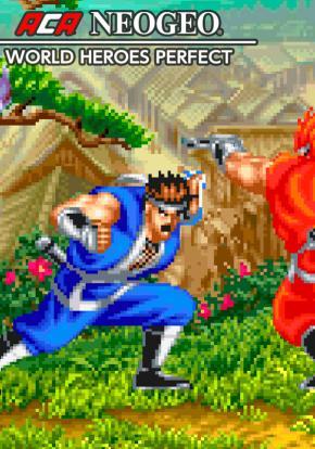 ACA NeoGeo: World Heroes Perfect - Carátula