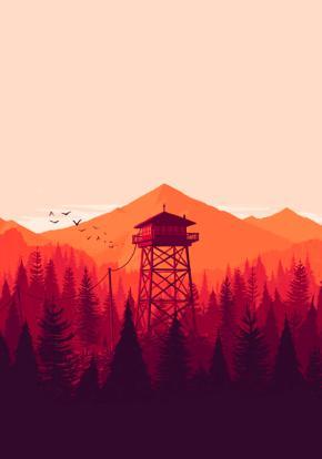 Firewatch - Carátula