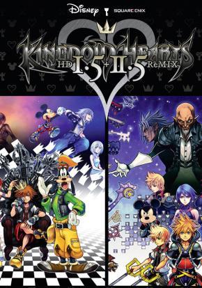 Kingdom Hearts HD 1.5 + 2.5 Remix - Carátula