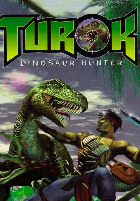 Turok: Dinosaur Hunter - Carátula