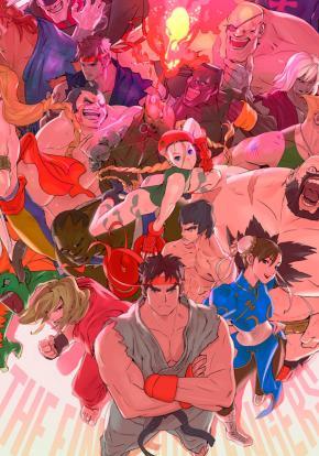 Ultra Street Fighter II: The Final Challengers - Carátula