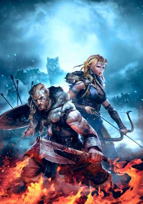 Vikings: Wolves of Midgard - Carátula
