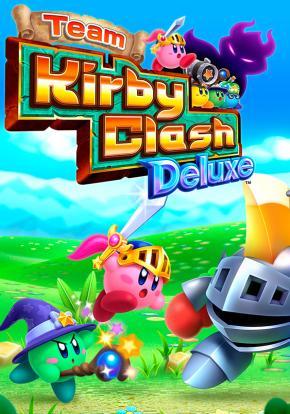 Team Kirby Clash Deluxe - Carátula