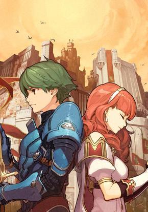 Fire Emblem Echoes: Shadows of Valentia - Carátula