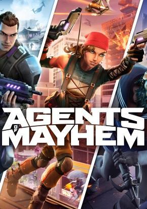 Agents of Mayhem Portada