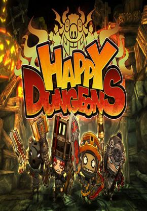 Happy Dungeons portada