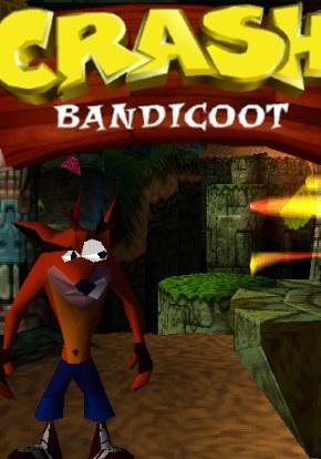Crash Bandicoot PSX Portada