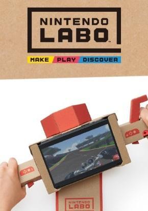 Nintendo Labo portada