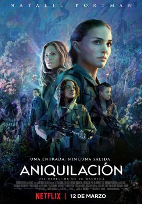 Aniquilación Poster Español