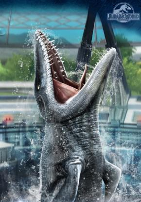 Jurassic World El Juego Cover