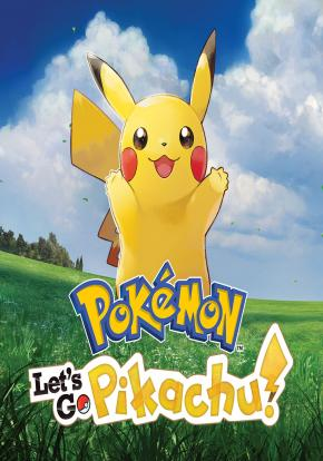 Pokémon: Let's Go, Pikachu! cover