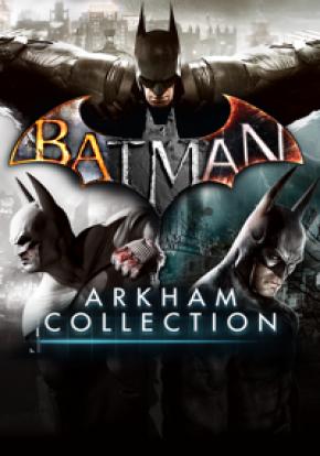 Batman Arkham Collection Cover