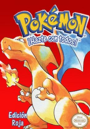 Pokemon Rojo caratula