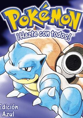 Pokemon azul caratula