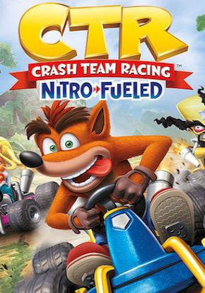 Crasth Team Racing Nitro Fueled caratula