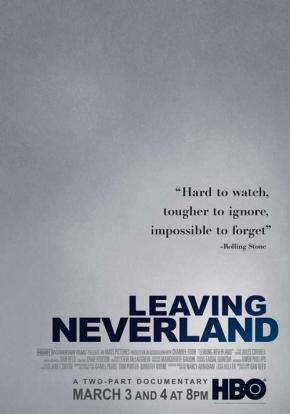 Cartel de Leaving Neverland
