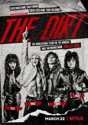 The Dirt Netflix poster