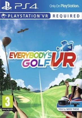 Everybody's Golf VR Ficha