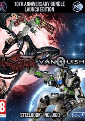 Bayonetta y Vanquish portada ficha