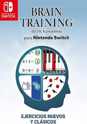 Brain Training del Dr. Kawashima para Nintendo Switch FICHA