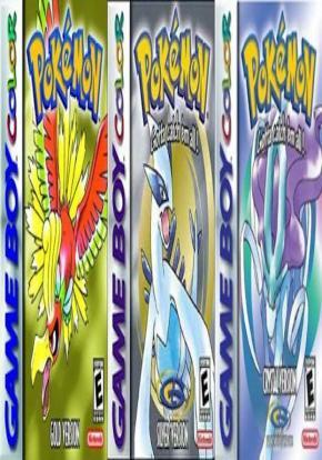 Pokemon Oro, Plata y Cristal portada