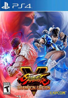 Street Fighter V: Champion Edition CARÁTULA