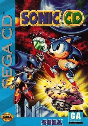 Sonic CD Portada Ficha