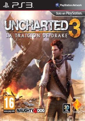 Uncharted 3 Portada Ficha