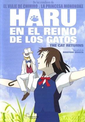 Haru en el reino de los gatos cartel