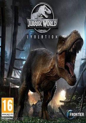 Jurassic World Evolution Portada