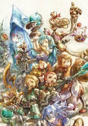 Final Fantasy Crystal Chronicles Remastered carátula